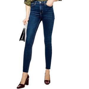 TopShop Jamie High Waist Jeans 34/UK 31/US